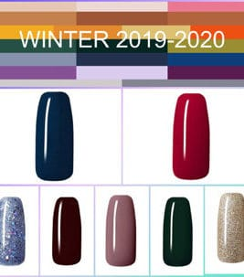 Winter Trendfarben Set - 7Stk.