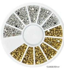 Pearls Display-Silber/Gold